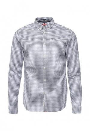 Рубашка Superdry. Цвет: серый
