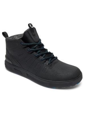 Ботинки Quiksilver. Цвет: черный, белый, серый