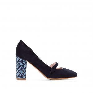 Туфли на каблуке MADEMOISELLE R. Цвет: пурпурный,синий морской