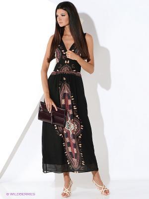 Платье Malvin. Цвет: черный
