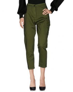 Повседневные брюки DIXIE. Цвет: зеленый-милитари