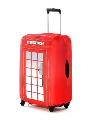 Чехол для чемодана модель Travel Suit ECO Телефон Fancy Armor. Цвет: красный