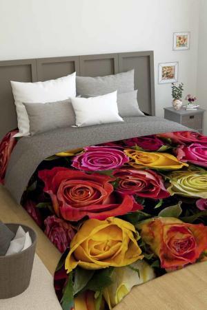 Покрывало Букет роз Сирень. Цвет: желтый, красный
