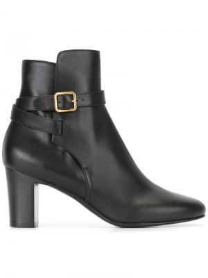 Ботинки с ремешками Michel Vivien. Цвет: чёрный