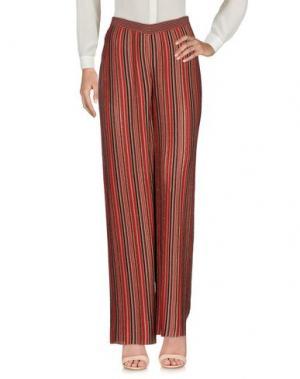Повседневные брюки MALÌPARMI M.U.S.T.. Цвет: кирпично-красный