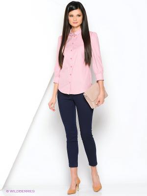 Блузка Ksenia Knyazeva. Цвет: бледно-розовый