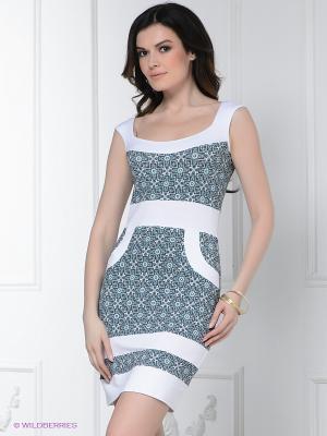 Платье Hammond. Цвет: бирюзовый