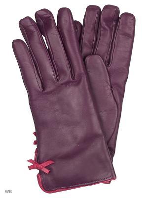 Перчатки MERCEDES-BENZ. Цвет: фиолетовый