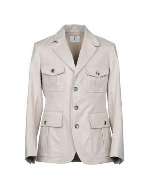 Пиджак KIRED. Цвет: светло-серый