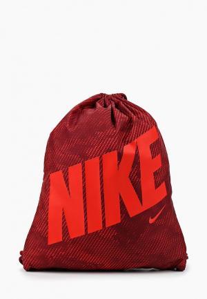 Мешок Nike. Цвет: бордовый