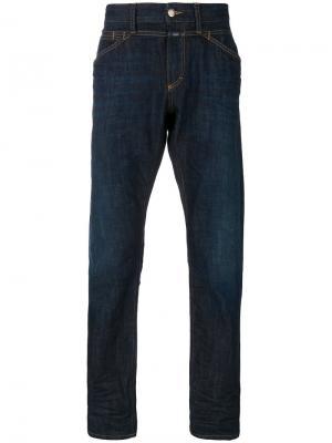 Пятикарманные джинсы Selvedge Closed. Цвет: синий