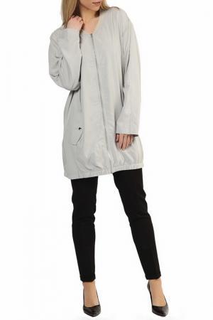 Куртка UNQ. Цвет: серый