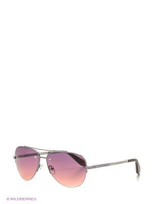 Солнцезащитные очки BLD 1614 101 Baldinini. Цвет: серебристый, фиолетовый