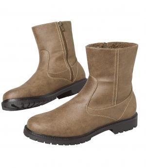 Ботинки на Молнии AFM. Цвет: коричневыи