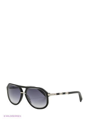 Солнцезащитные очки BLD 1625 101 Baldinini. Цвет: серебристый, черный