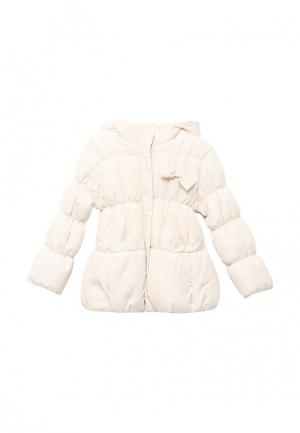 Куртка утепленная Modis. Цвет: бежевый