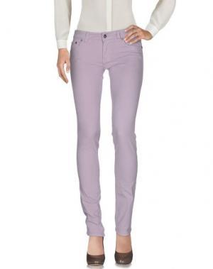 Повседневные брюки CESARE PACIOTTI 4US. Цвет: сиреневый