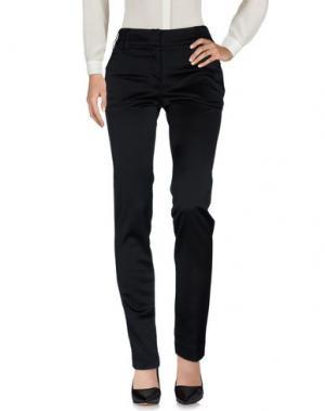 Повседневные брюки ALBINO. Цвет: черный