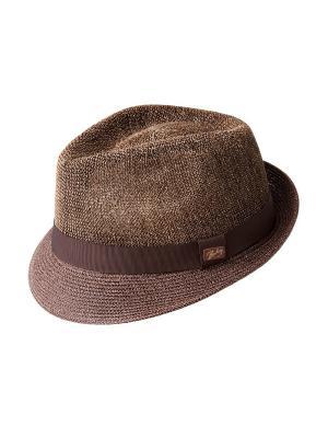 Шляпа Bailey. Цвет: коричневый, бежевый