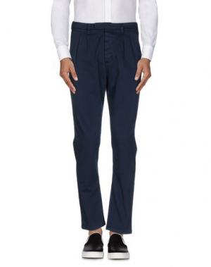 Повседневные брюки 1° GENITO. Цвет: темно-синий