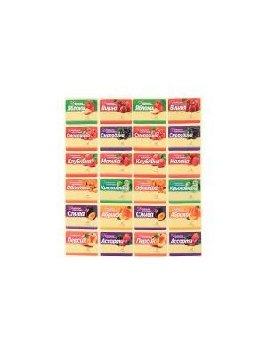 Самоклеющиеся этикетки для сладких домашних заготовок 96 шт. Elan Gallery. Цвет: зеленый, красный, желтый