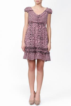 Платье Sabra. Цвет: розовый