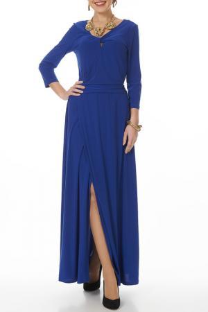 Платье Argent. Цвет: васильковый
