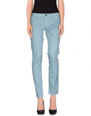 Повседневные брюки MISS MONEY. Цвет: грифельно-синий