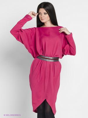 Платье Elena Shumilo. Цвет: малиновый