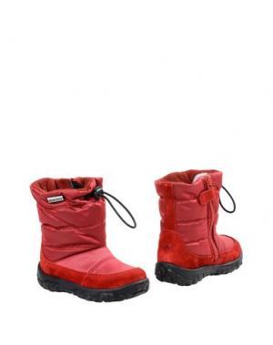 Полусапоги и высокие ботинки NATURINO. Цвет: пурпурный