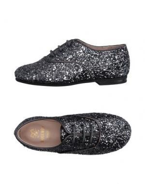 Обувь на шнурках EQUERRY. Цвет: стальной серый