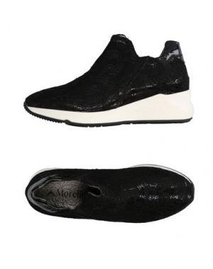 Низкие кеды и кроссовки ANDREA MORELLI. Цвет: черный
