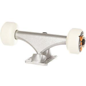 Подвеска для скейтборда 1шт.  & Oj 53mm 1t/2w/4b Assembly Standard Silver 5 (19.7 см) Bullet. Цвет: серый,белый,оранжевый