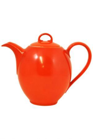 Кофейник KAHLA. Цвет: оранжевый