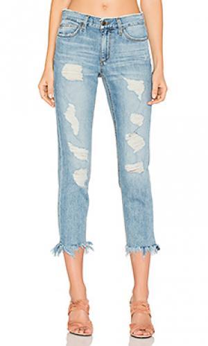 Прямые джинсы с потрепанным низом the smith Joes Jeans Joe's. Цвет: none