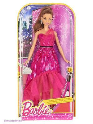 Кукла Барби Розовая изысканность Barbie. Цвет: малиновый, черный