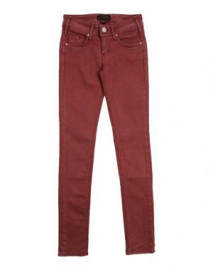 Джинсовые брюки CIMARRON. Цвет: кирпично-красный