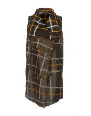 Легкое пальто VINTAGE DE LUXE. Цвет: темно-коричневый