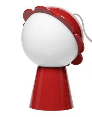 Настольная лампа QEEBOO. Цвет: красный