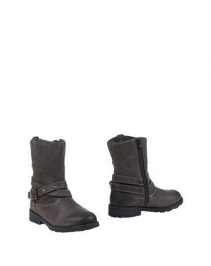 Полусапоги и высокие ботинки SUPERFIT. Цвет: свинцово-серый
