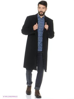 Пальто DOUGLAS. Цвет: черный