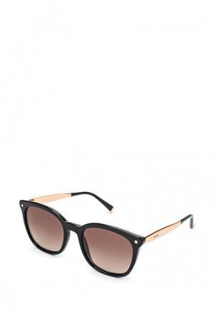 Очки солнцезащитные Max Mara. Цвет: черный