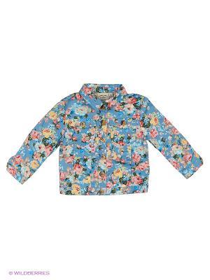 Куртка Finn Flare. Цвет: голубой, серо-голубой