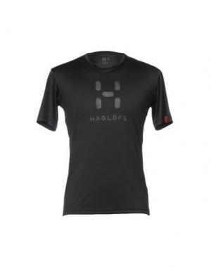Футболка HAGLÖFS. Цвет: черный