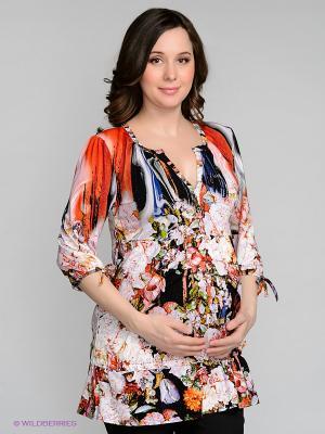 Туника для беременных ФЭСТ. Цвет: черный, сиреневый, красный