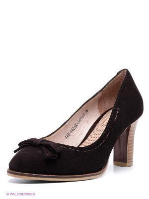 Туфли Francesco Donni. Цвет: темно-коричневый
