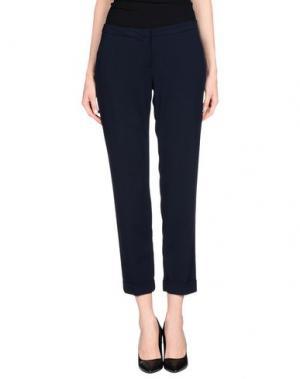 Повседневные брюки NINA NEW YORK. Цвет: темно-синий