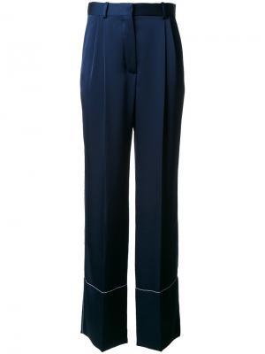 Широкие брюки Sonia Rykiel. Цвет: синий