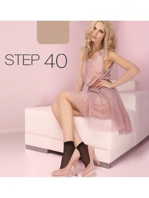 Носки ORI Step 40 den (2 пары). Цвет: светло-бежевый