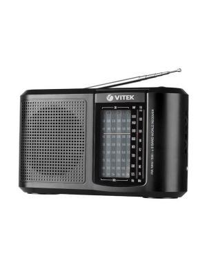 Радиоприемник Vitek. Цвет: черный